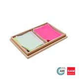 Complete Set of Fabric Box by Gonzagarredi Montessori