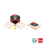 Trinomial Cube by Gonzagarredi Montessori