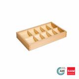 Grammar Symbols Box: 10 Compartment by Gonzagarredi Montessori