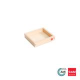 Wooden Tray, Small by Gonzagarredi Montessori