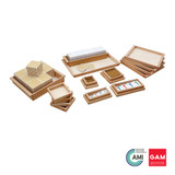 Golden Bead Material. Complete Set by Gonzagarredi Montessori
