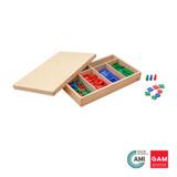 Stamp Game by Gonzagarredi Montessori