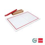Addition Strip Board by Gonzagarredi Montessori