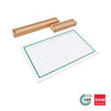 Subtraction Strip Board by Gonzagarredi Montessori