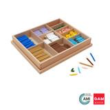 Multiplication Bead Bar Layout Box by Gonzagarredi Montessori
