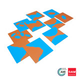 Land And Water Form Cards by Gonzagarredi Montessori