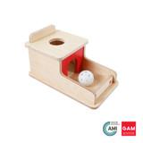 Object Permanence Box With Tray by Gonzagarredi Montessori