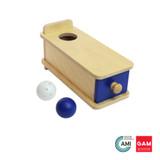Object Permanence Box with Drawer by Gonzagarredi Montessori