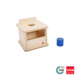 Imbucare Box With Large Cylinder by Gonzagarredi Montessori