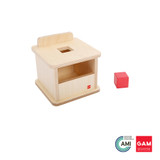 Imbucare Box with Cube by Gonzagarredi Montessori