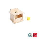Imbucare Box With Triangular Prism by Gonzagarredi Montessori