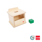 Imbucare Box With Rectangular Prism by Gonzagarredi Montessori