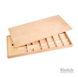 Medium Movable Alphabet Box; Montessori materials by Nienhuis