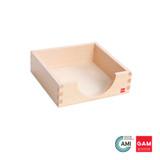 """Paper Box: 14"""" x 14"""" cm by Gonzagarredi Montessori"""