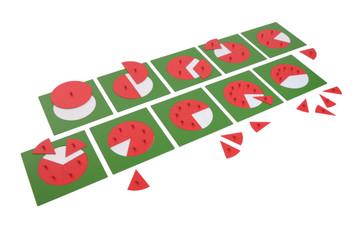 Fraction Circles by Gonzagarredi Montessori