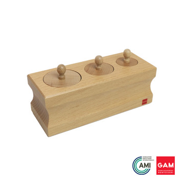 0-3 Cylinder Block #2 by Gonzagarredi Montessori