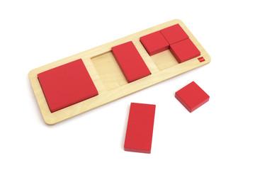 Squares And Rectangles by Gonzagarredi Montessori