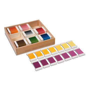 Color Box 3 - Montessori curriculum and materials