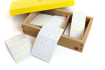 Multiplication Equations and Product Box by Gonzagarredi Montessori
