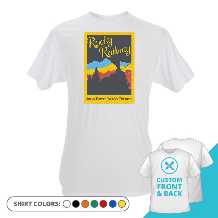 Rocky Railway Custom Shirt Option 2