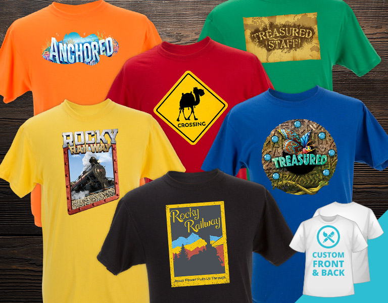 Fully Customizable VBS T-Shirts