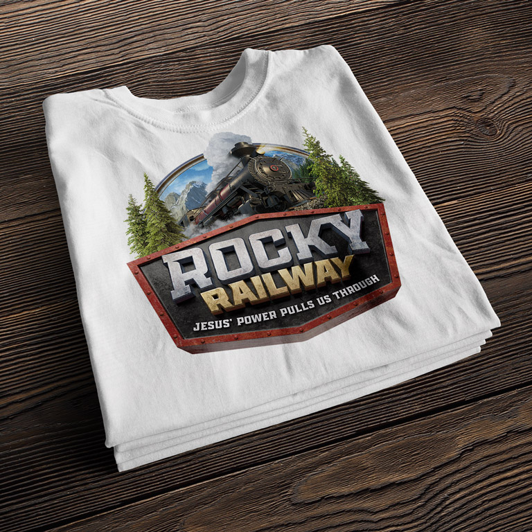Browse Rocky Railway VBS T-Shirt Designs