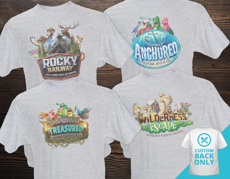 Custom VBS Theme T-Shirts