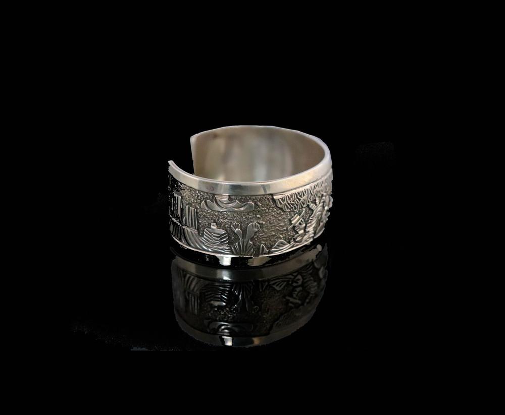 Nobonninne Sterling Silver Storyteller Bracelet