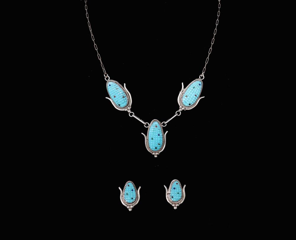 Chibi Corn Necklace & Earring Set
