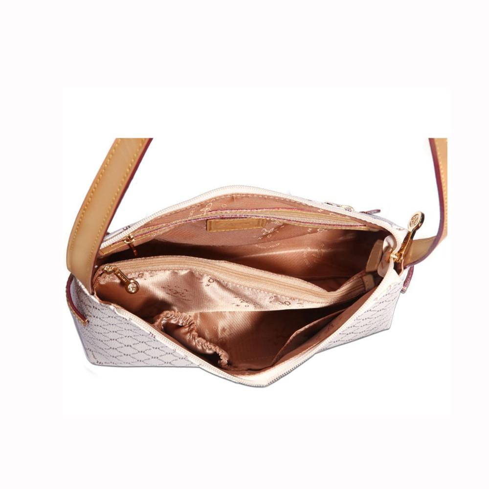 Rioni Natural Signature Classic Shoulder Bag