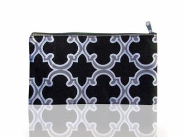 Black & White Moroccan Weekender Travel Set