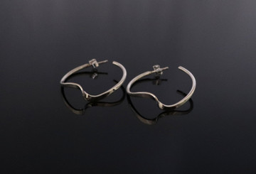 Aiyana Sterling Silver Twist Earrings
