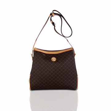 Rioni Brown Signature Mia Messenger Bag
