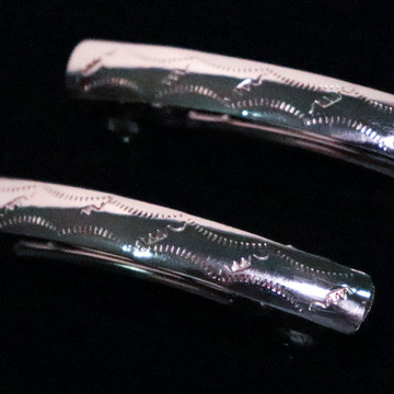 Aiyana Sterling Silver Water Barrettes