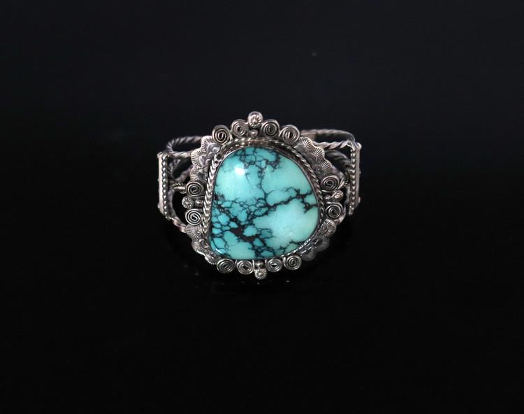 Lana Scroll & Scallop Cuff Bracelet