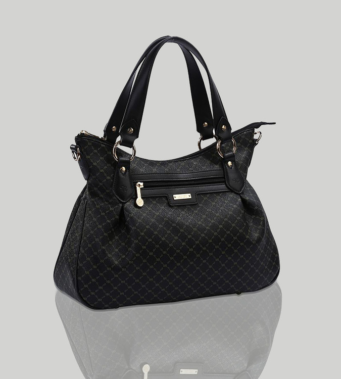 Rioni Black Signature Jenny Bag