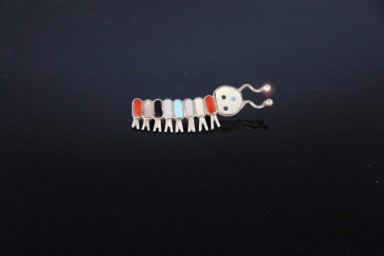 Fala Caterpillar Pin
