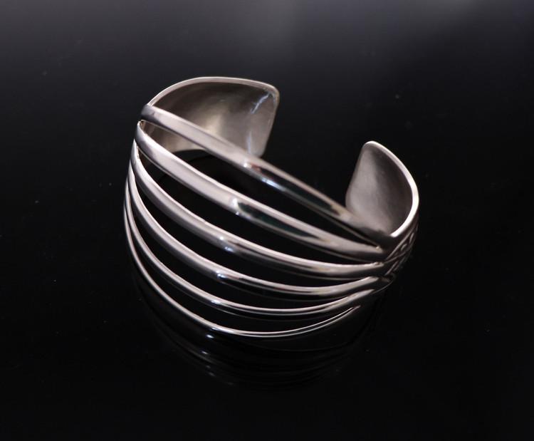 Aiyana Sterling Silver Six Tier Cuff Bracelet