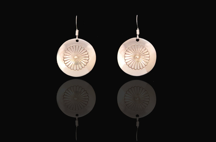 Doli Sterling Silver Dangle Floral Earrings
