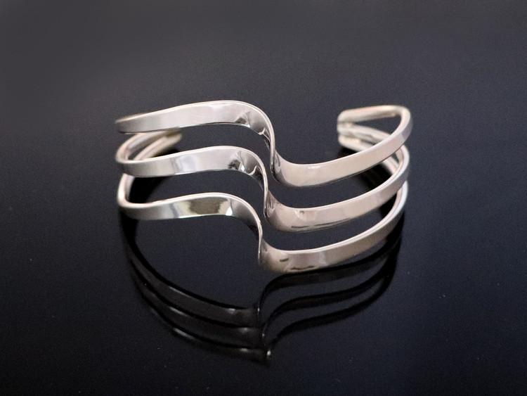 Aiyana Sterling Silver Twist Cuff Bracelet