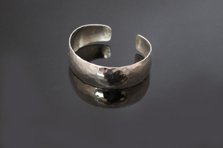 Aiyana Sterling Silver Hammered Cuff Bracelet