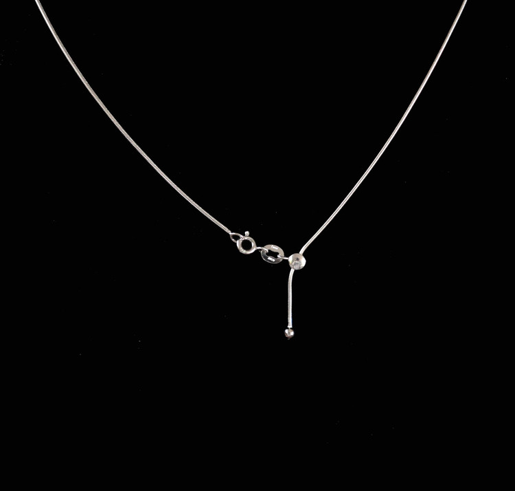 Aiyana Sterling Silver Adjustable Length Chain