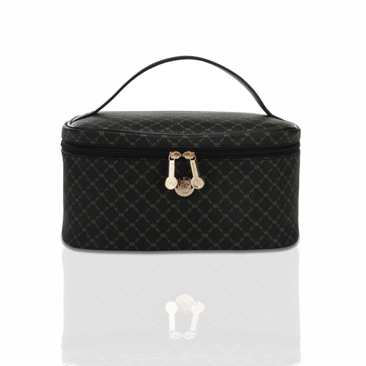 Rioni Black Signature Cosmetic Carrier