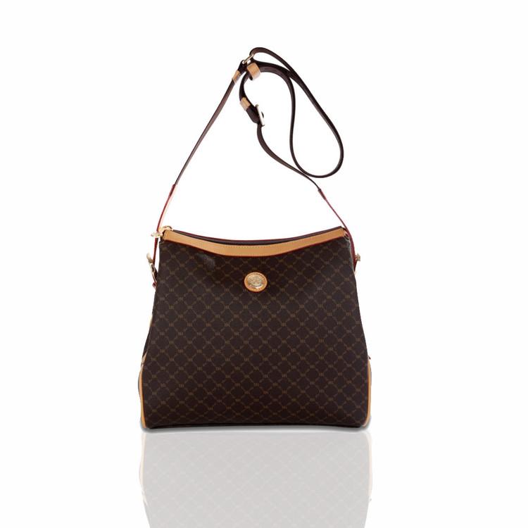 Rioni Brown Signature Mia Messenger Bag