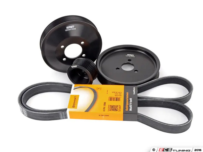 Turner Motorsport Power Pulley Kit - E46 with Valeo Alternator