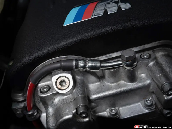 ECS Tuning S54 Exact-Fit Stainless Steel Vanos Line - E46 M3 S54