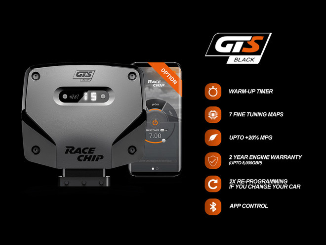 RaceChip GTS Black+App Tuning Box - X6 M (E71-72) / 2009-2014