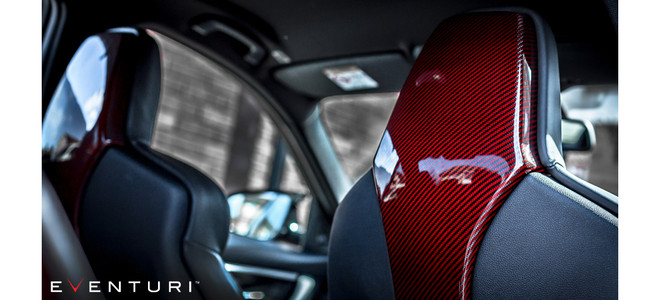 Eventuri Seat Back Covers - BMW  M3 (F80) M4 (F82, F83)
