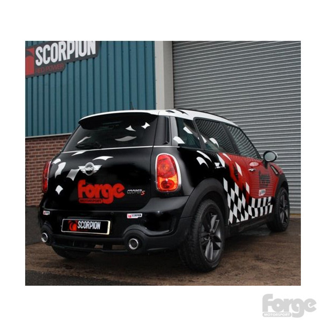 Mini Cooper Performance Parts >> Forge Motorsport Performance Exhaust For The Mini Countryman Cooper