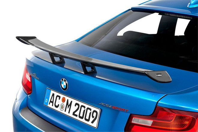 AC Schnitzer Carbon fibre racing wing for BMW 2 series coupé (F22)